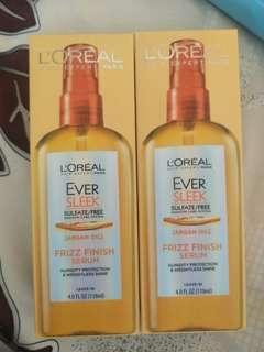 🚚 L'Oreal frizz finish serum