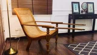 Made to order brand new solid teak plantation chair
