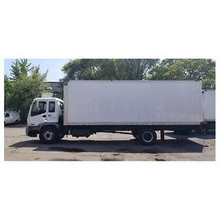 24ft Lorry with Tailgate Rental with Driver
