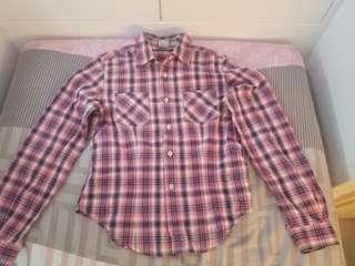 Levi's 格仔恤衫