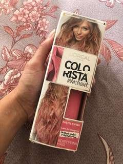 Loreal colorista washout #dirty pink color
