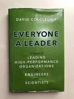 Everyone A Leader by David Colcleugh