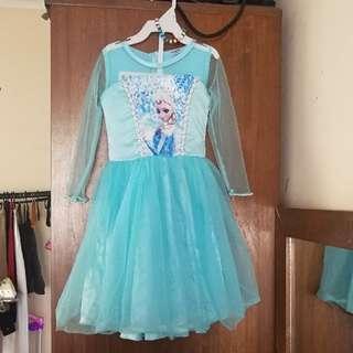 Frozen dress 👗