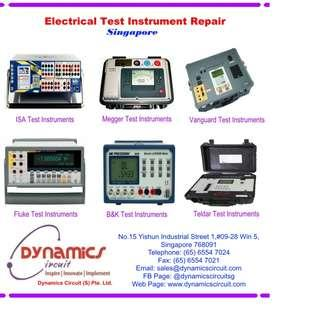 Electrical Test Instrument Repairs by Dynamics Circuit (S) Pte Ltd