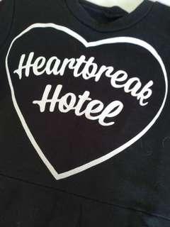 🚚 Heart break hotel 裙子 很可愛