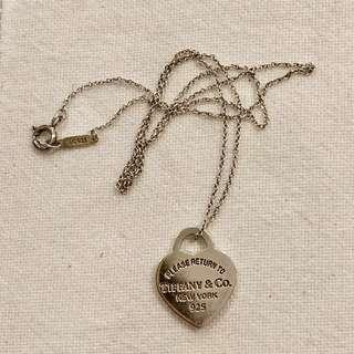 Authentic TIFFANY & CO Heart Pendant necklace