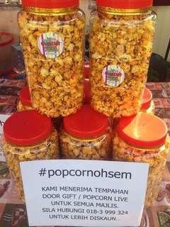 Popcorn caramel