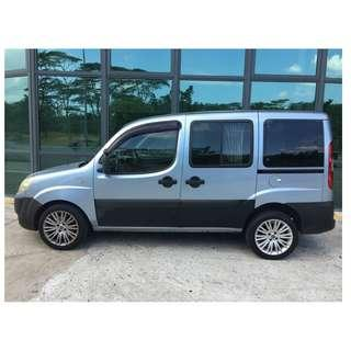 [RESERVED] Private Car - Fiat Doblo Panorama 1.4M