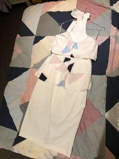Fit choker dress