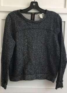 H&M Grey Long sleeve top