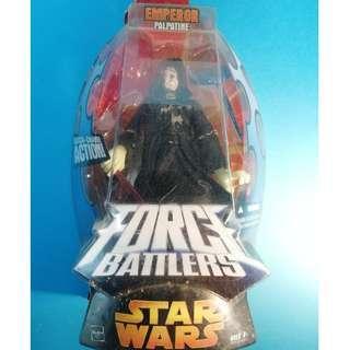 STAR WARS EMPEROR force battlers