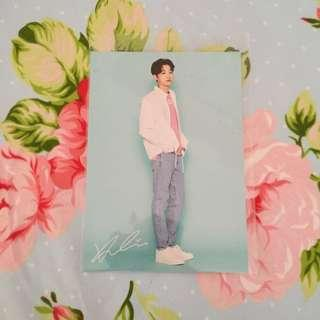 WANNA ONE LAI KUAN LIN POSTCARD