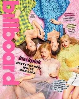 WTS BILLBOARD MAGAZINE BLACKPINK GROUP COVER