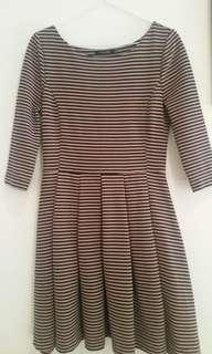 Striped Portmans dress