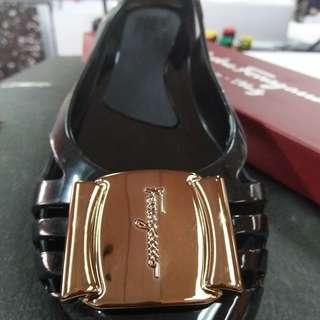 Salavatore ferragamo Jelly shoe Black
