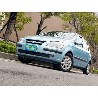 2004年 現代 GETZ 1.3 最佳代步車首選 好顧好養稅金便宜 五門超實用 可全額貸 一手女用車