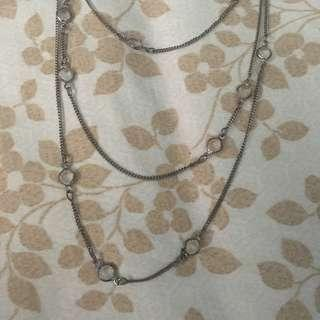 3 Layer Long Necklace