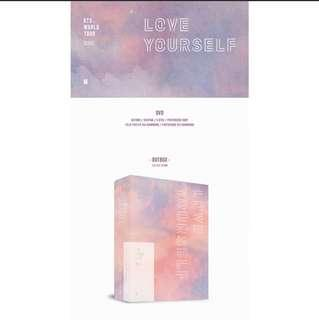 🚚 [SHARE] BTS LY IN SEOUL DVD