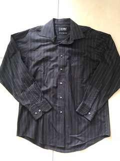 🚚 Goldlion Black Long Sleeves Shirt