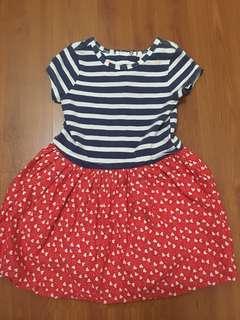 Pumpkin patch sailor dress #xmas50