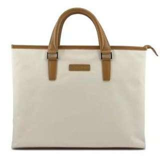 🚚 SAMSONITE T600 Executive Laptop Bag Slim Case-Beige