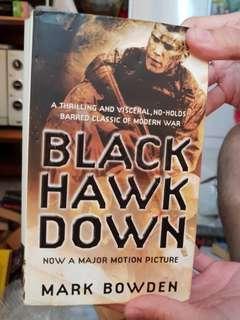 Black hawk down by Mark Bowden book