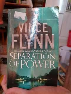 🚚 Separation of power by Vince flynn