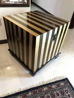 Wooden Chest Box Baroque Style