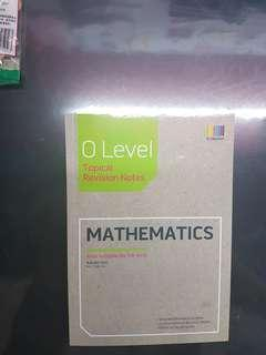 🚚 O level math topical revision notes