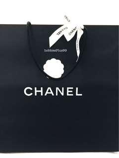 🚚 CHANEL, Jumbo Paper Bag