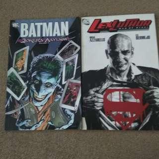 Batman and lex luthor