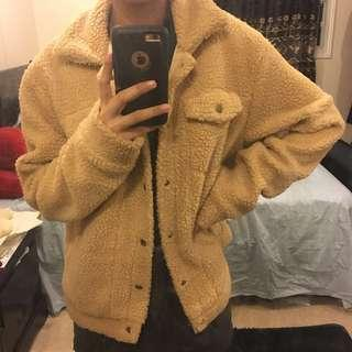 Zaful fuzzy coat