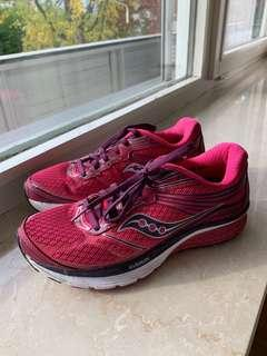 Saucony Guide 9 Running Shoes Pink Size 6.5