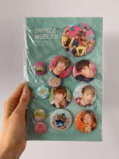 🚚 SHINee World Badges