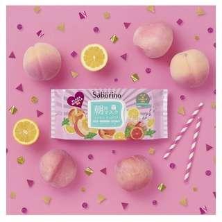 Saborino Morning Mask | Peach & Lemonade