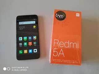 Xiaomi Redmi 5A TAM Full Set Mulus No Minus