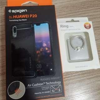 HUAWEI P20 COVER & PHONE RING