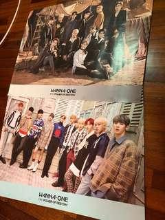 Wanna One POD Posters