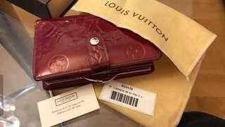 LV wallet red