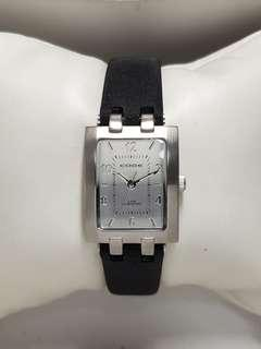 Authentic Code watch for ladies in Stainless Steel and black nylon strap