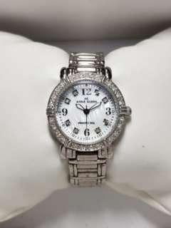 Anne Klein watch for ladies with diamonds