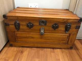 Chinese antique wooden chest