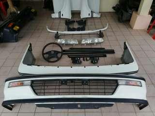 Honda Civic EF2 SH4 s.i bodypart chrome