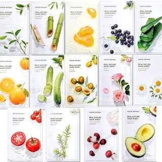 Nature Republic Real Nature Mask Sheet *RENEWAL*