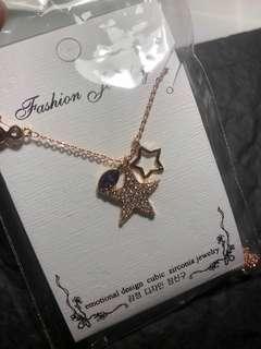 星星項鍊、手環一組