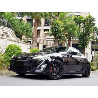 2012年 TOYOTA FT86 一手車 僅跑七萬 市場超缺車種 僅此一台 有興趣快來電預約試乘 可全額