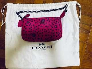 Brand New Authentic Coach Wristlet Tote Clutch Bag