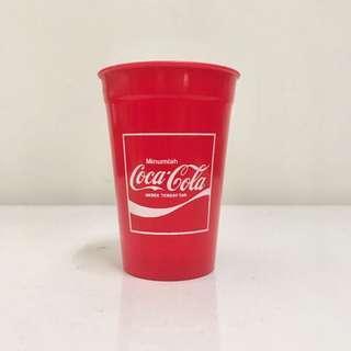 Coca-Cola Plastic Cup