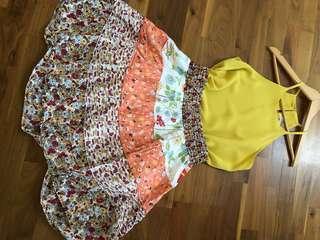 Skirt flower