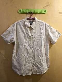 Cabin Creek White Polo Shirt